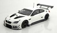 Minichamps BMW M6 GT3 Plain Body 2016 White 1:18 Model Car Genuine New