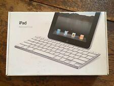 Genuine Apple iPad Keyboard Dock for IPAD--New, opened, barely used