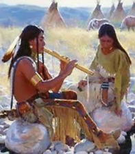 Sioux Indian Authentic Flute Music Meditation healing stress relax sleep aid