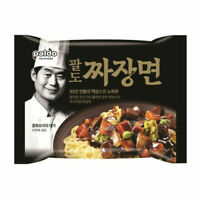 6 Packs Paldo Jja Jang Myun Ramen Noodle Instant Black Korean Black Bean_RU