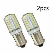 2X BA9S T11 T4W 3014 LED 24-SMD Car Side Light Bulbs Interior Lamps White DC 12V