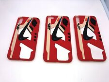 Nike 3D Red/White Phone Case Iphone XR, Iphone XS, 7/8 Plus, Iphone XS Max