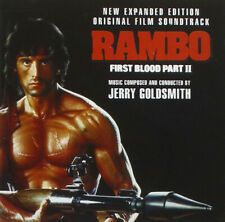 Rambo II First Blood Part 2 / Jerry Goldsmith (21 Tracks) Expanded CD Soundtrack