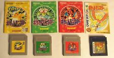4 Nintendo Game Boy Pocket Monsters Pokemon JAPAN Yellow, Green, Red, Gold Color