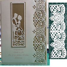 Lace Border Lovers Metal Cutting Dies Stencil Scrapbooking Embossing Craft Decor