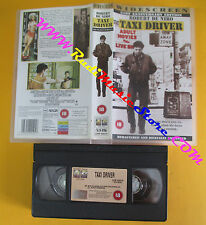 VHS film TAXI DRIVER 21st anniversary edition Robert De Niro inglese(F140)no dvd