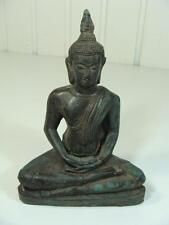 Antiche Buddha Figura Statua di bronzo Asiatika skupltur RARE 20.jhd