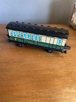 ERTL Thomas Train Tank Engine & Friends green passenger coach Car vintage