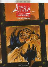 Attila Mon Amour Hardcover Comic Nr. 1 - 6 zur Auswahl Kult Editionen Neuware