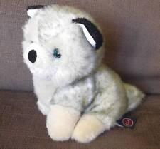 TRUDI CAGNOLINO DOG HUSKY ORIGINALE 19 CM. PLUSH