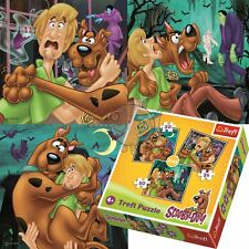 Trefl 3 in 1 20+36+50 Piece Jigsaw Puzzle For Kids Look out Ghosts Scooby Doo