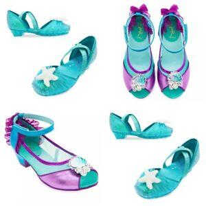 Disney Store Ariel Costume Shoes Dress Up Little Mermaid Princess Starfish Shell