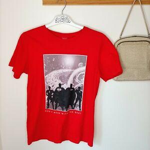 Justice League Shirt T-shirt 16 teen men XS 176 DC Comics Cartoon Casual cotton