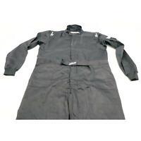 Zamp R010003XXXL ZR-10 SFI 3.2A/1 Black Single Layer Race Suit