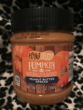 Peanut Delight PUMPKIN Peanut Butter Spread 12 oz