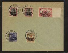 Lithuania  1N6,8,10,11,12  on   Feldpostep  cancel  cover  1916       KL0820