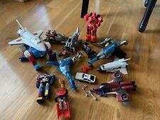 Vintage Transformers G1 Gobots Tonka Bandai parts lot