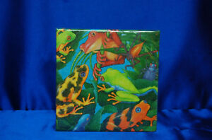 Rainforest Frogs Napkins Amphibian Napkins Frog Party Supplies # 1