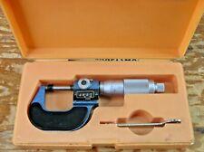 Mitutoyo Craftsman 38666 Hybrid Micrometer English Analog Amp Metric Digital