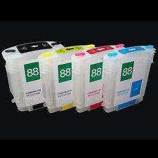 Cartuchos rellenables nachfüll fill in Refill cartuchos para HP 88xl k550 k5400 k8600