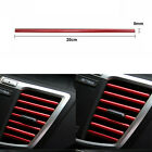 Red Moulding Trim Decoration Strips For Car Air Conditioner Outlet Vent Grille   photo