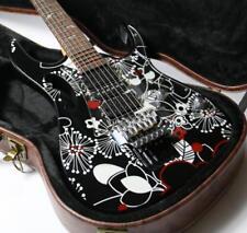 Free Shipping C7V Electric Guitar Floyd Rose Bridge Including Case Stock Cheaper
