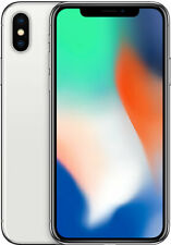 iPhone X - Unlocked 64GB - Silver - Great Condition - 1-Year Warranty!