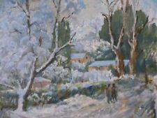 Oil Landscape Blue Art Paintings