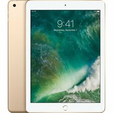 NEW Apple iPad with WiFi, 32GB, Gold (2017 Model) MPGT2LL/A Sealed USA Warranty