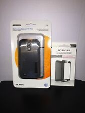 Incipio DualPRO + Moshi for Samsung Galaxy S4 Mini - Silver/Black fitted cases
