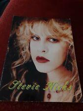 Stevie Nicks Street Angel World Tour 1994 souvenir book