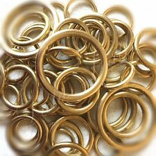 Heavy Brass O Ring - Solid - Cast - 19   25   32   38   51mm