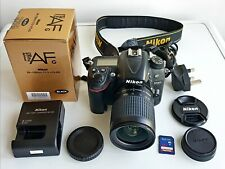 Nikon D7000 16MP Camera 28-100mm Lens 32GB SD Card Charger