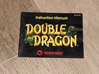 Double Dragon 1 Instruction Manual Booklet Nintendo Nes Authentic