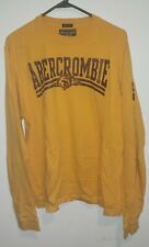 Abercrombie & Fitch Muscle Fit Heavy LS Down & Dirty Mens XL Shirt ASU Minnesota