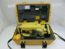 Topcon DT-104 Digital Theodlite Transit Level With Case
