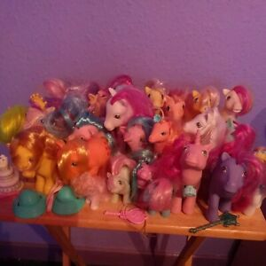 Vintage 1980s to 90s My Little Pony Original G1 Bundle - 26 Ponies