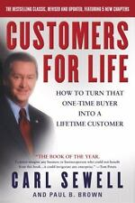 CUSTOMERS FOR LIFE by Carl Sewell FREE SHIPPING paperback book business success