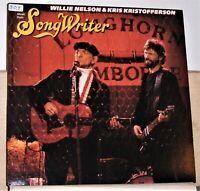 Willie Nelson & Kris Kristofferson - Songwriter - LP Record - Vinyl Near Mint