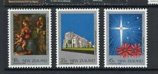 New Zealand 1983 Christmas MNH mint set of stamps