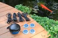 AQUASCAPE 75001 POND AIR 4 AERATOR -Koi Fish Aeration Pump-water-pool bubbler