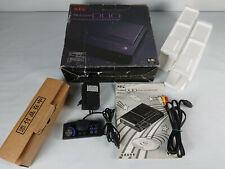 Boite notice et accessoires de NEC PC Engine DUO import Japon