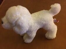"Douglas Small White Dog Plush 7"""