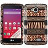 For MetroPCS LG Optimus F60 IMPACT TUFF HYBRID Case Skin Phone Cover Accessory