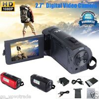 HD 1080P 16MP Digital Video Camcorder Camera DV HDMI 2.7'' TFT LCD 16X Zoomable