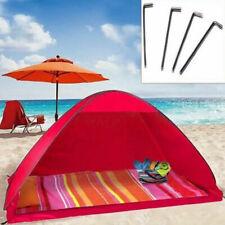 Tenda per 2 Persone da Spiaggia Mare Piscina Campeggio Parasole Protezione Sole