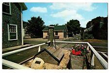 Pump Square Nantucket Massacusetts MA Chrome Postcard 1975 Sconset J. Lazarus