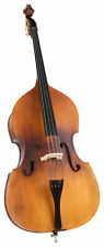 3/4 Kontrabass Set Double Bass Holz Ahorn matt Tasche Bogen Bass handgearbeitet