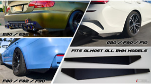 Rear Carbon Fiber Bumper Splitters Fits BMW E90 E92 F30 F80 G20 M3 M4 Diffuser