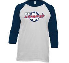 New York Arrows MISL Soccer 3/4 Sleeve Raglan Tee Shirt With Logo